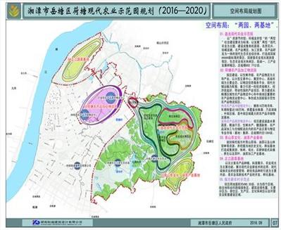 龙8国际首页岳塘区荷塘农业示范园规划