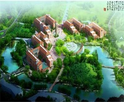 湖南科技大学校园中心建筑群